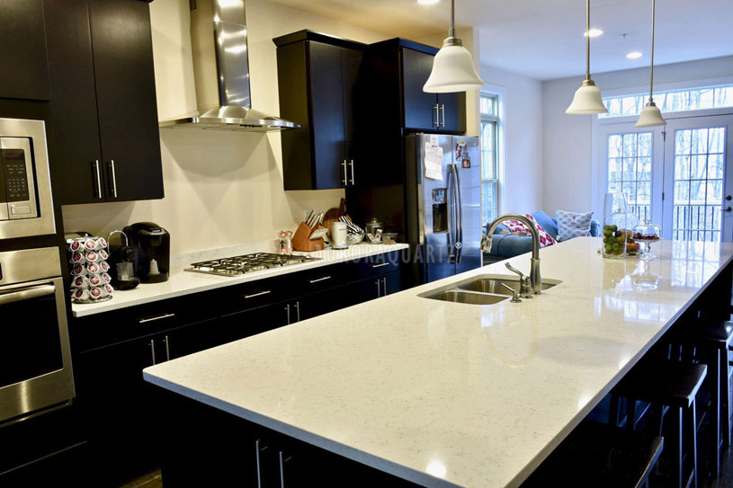 AQ619-Carrara-White-Quartz-Countertops-1
