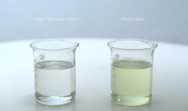 High Performanc Resin vs Low Performance Resin