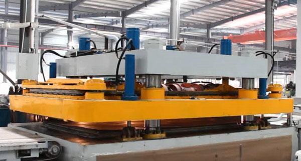 Vacuum Vibro Compressing Machine for Quartz Stone