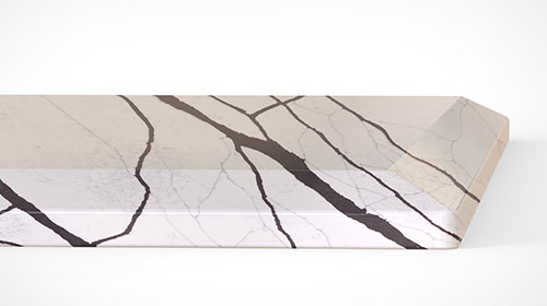 Quartz Countertops Half Bevel Edge