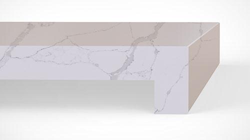 Quartz Countertops Mitered Edge